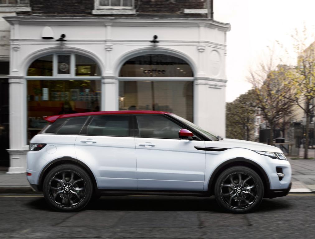 Range Rover Evoque British Edition: Exclusivo y limitado 1