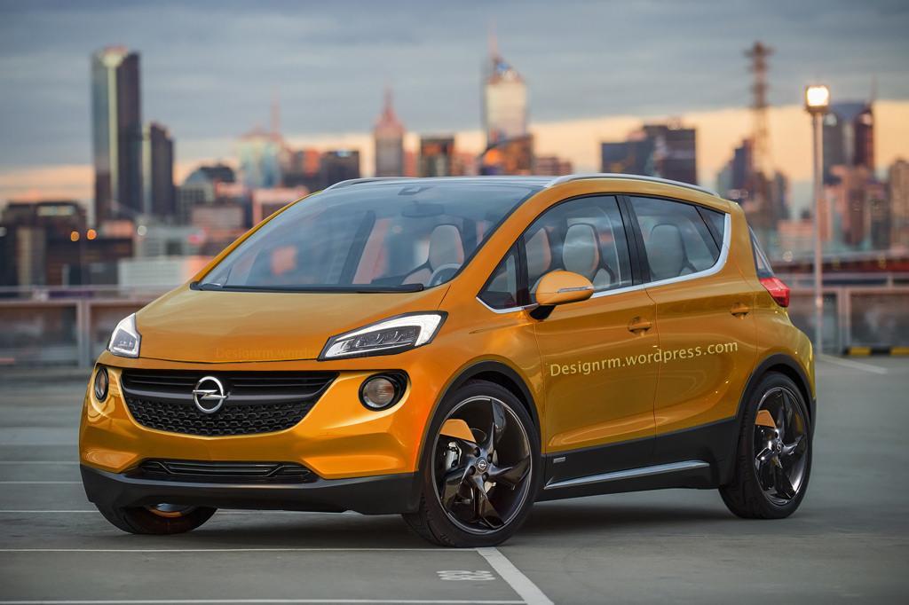 Más cerca del Chevrolet/Opel Bolt EV de producción 2