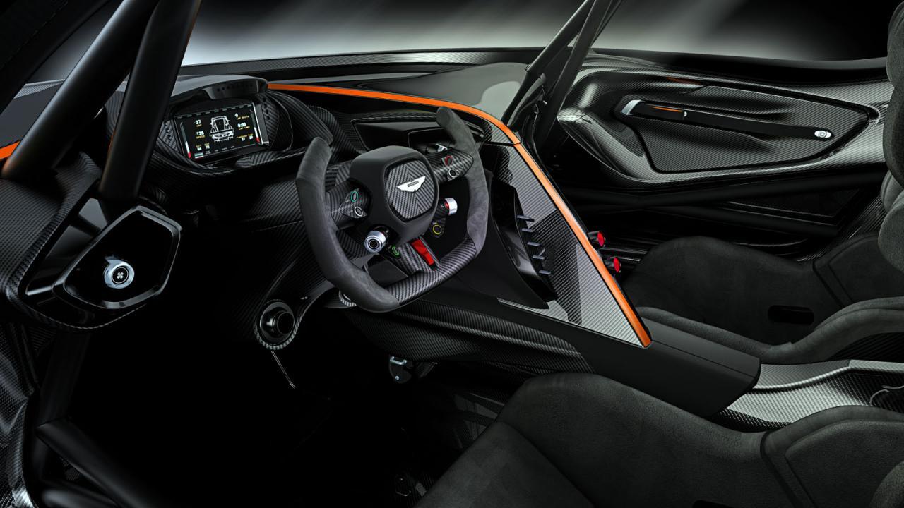 Oficial: Aston Martin Vulcan, más de 800 caballos y atmosférico 1