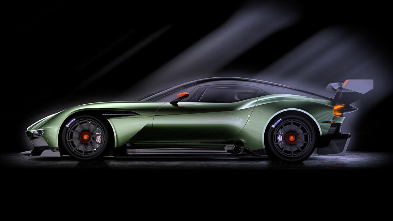 Oficial: Aston Martin Vulcan, más de 800 caballos y atmosférico 3