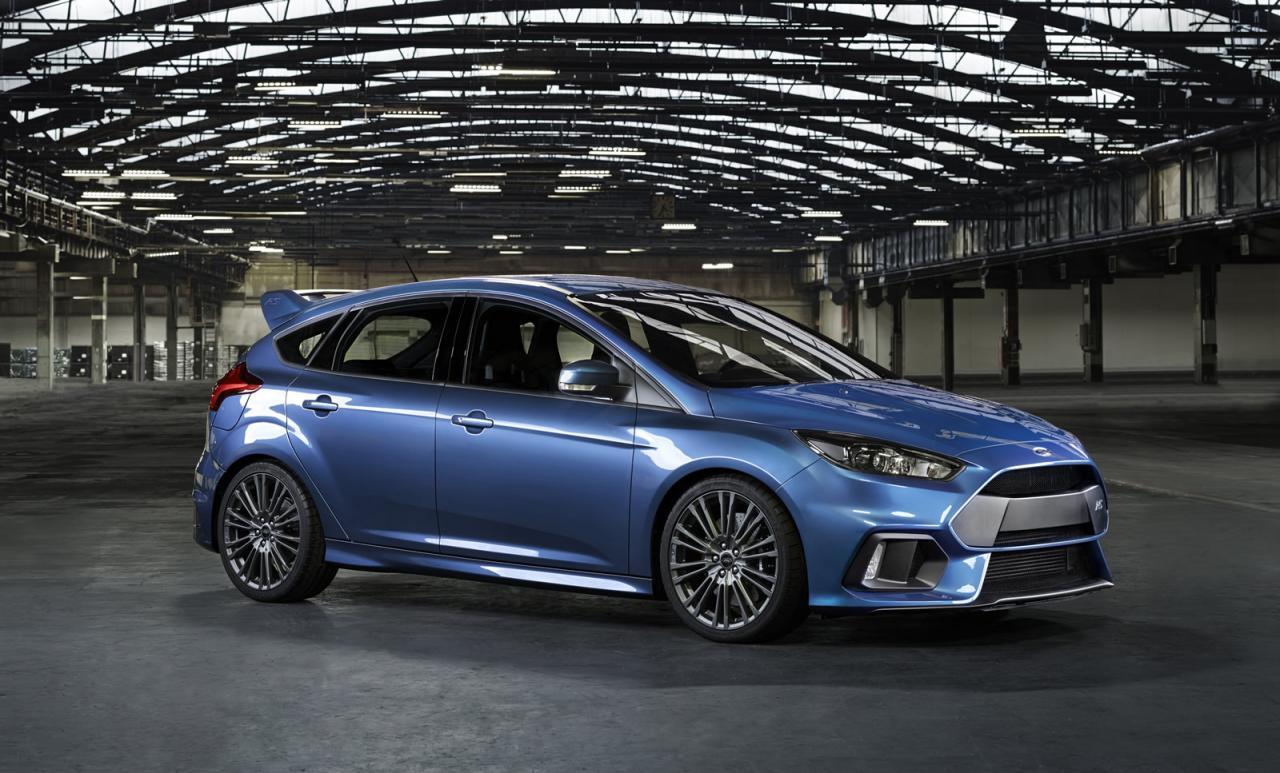 Oficial: Ford Focus RS, debuta con 315 caballos y tracción total 3