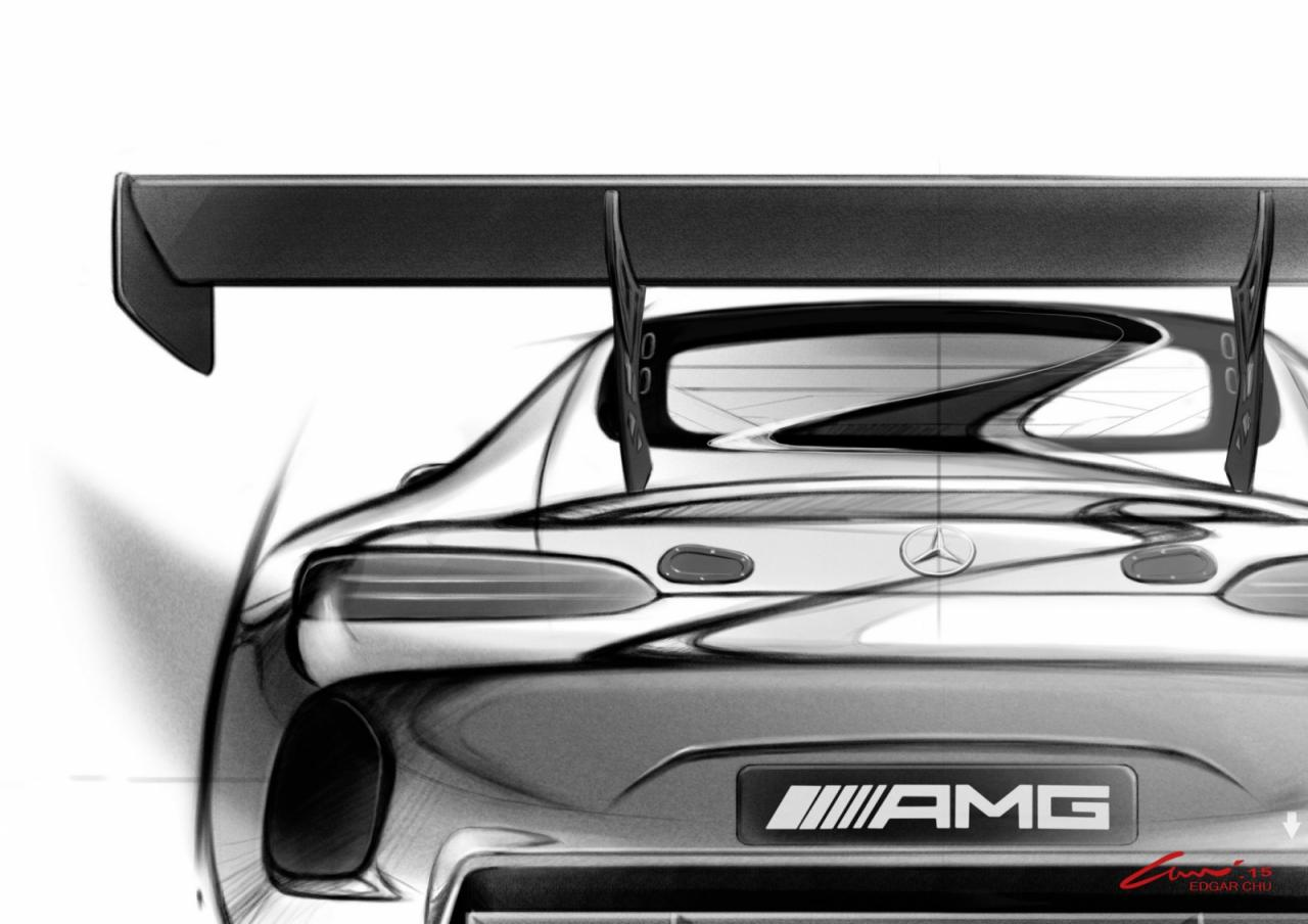 Primer anticipo oficial del Mercedes AMG GT3 1