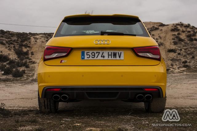 Prueba: Audi S1 Quattro 231 CV (diseño, habitáculo, mecánica) 6
