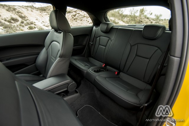 Prueba: Audi S1 Quattro 231 CV (diseño, habitáculo, mecánica) 8