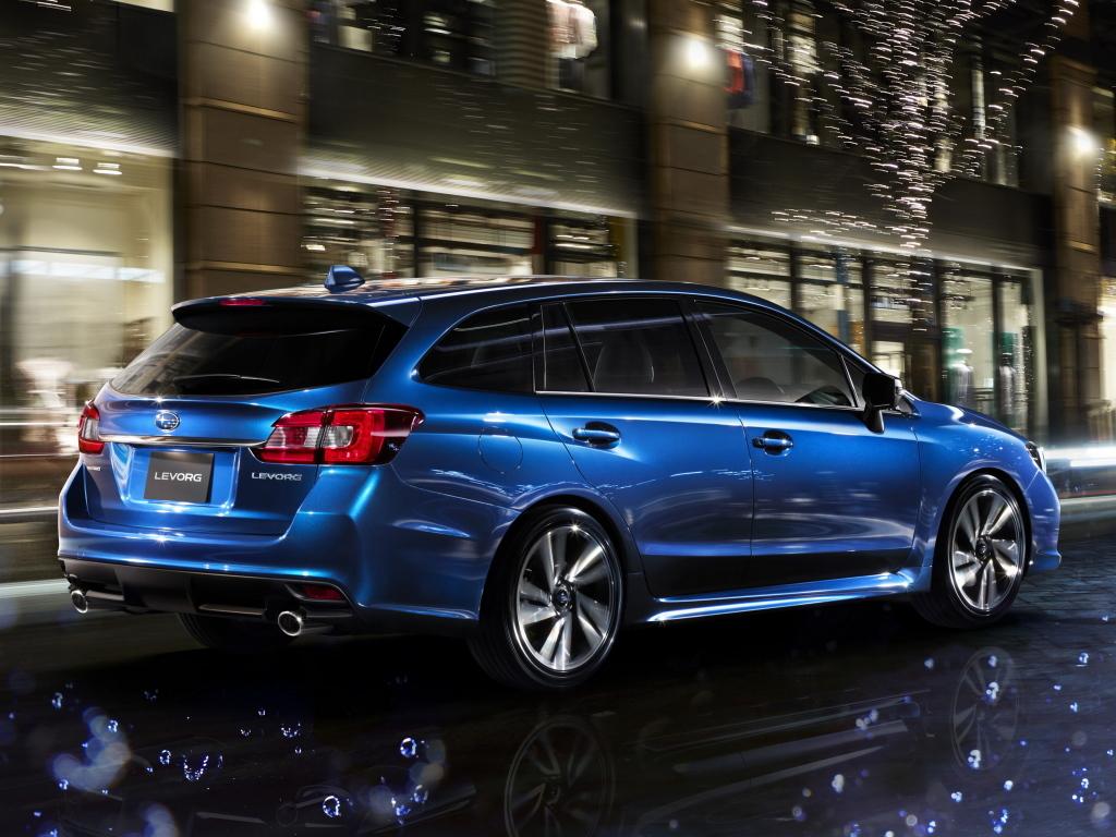 Subaru Levorg:  La berlina con carrocería familiar ¡llegará a Europa! 1