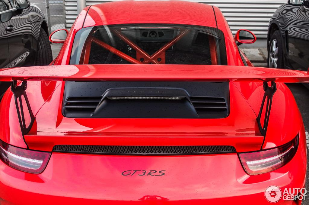 Al natural: Porsche 911 GT3 RS, en Lava Orange 1