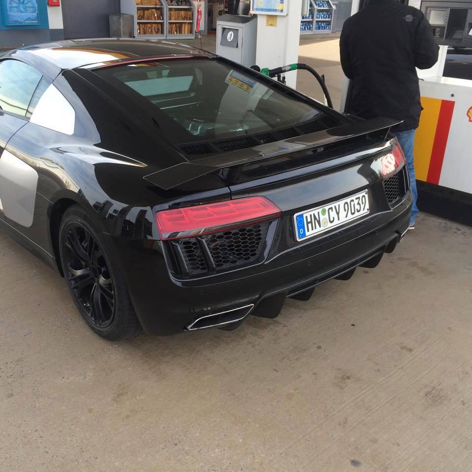 Así es el nuevo Audi R8 al natural 1