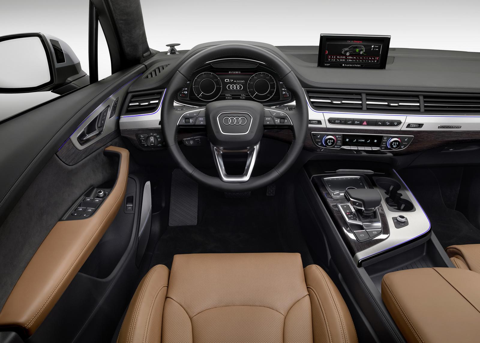 Audi Q7 e-tron 3.0 TDI quattro 2016: Sólo 1.7l/100 km de consumo medio 1