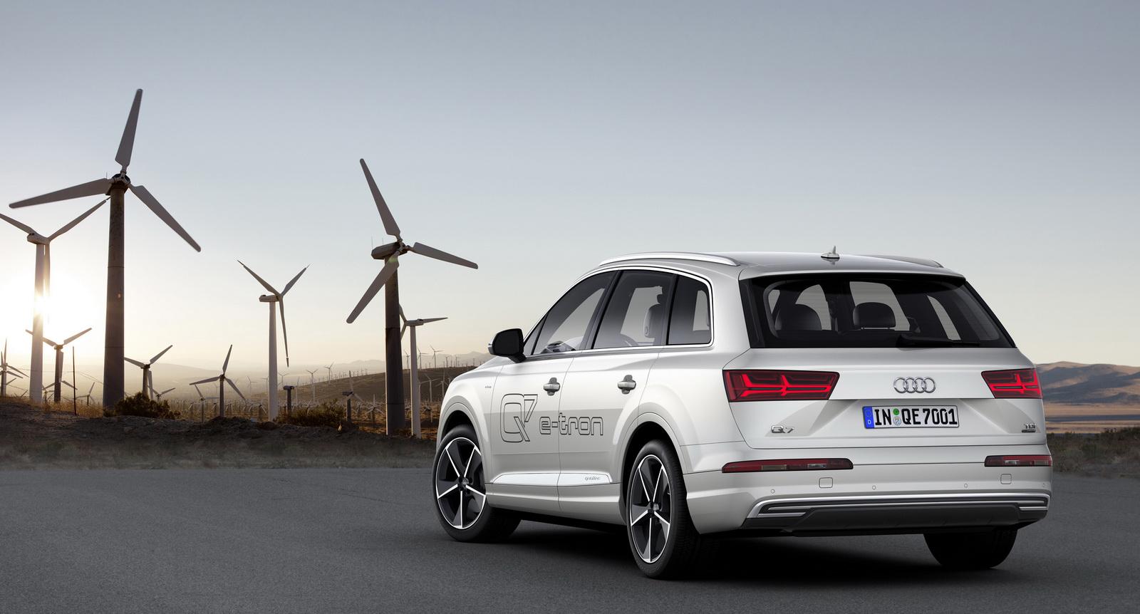 Audi Q7 e-tron 3.0 TDI quattro 2016: Sólo 1.7l/100 km de consumo medio 3