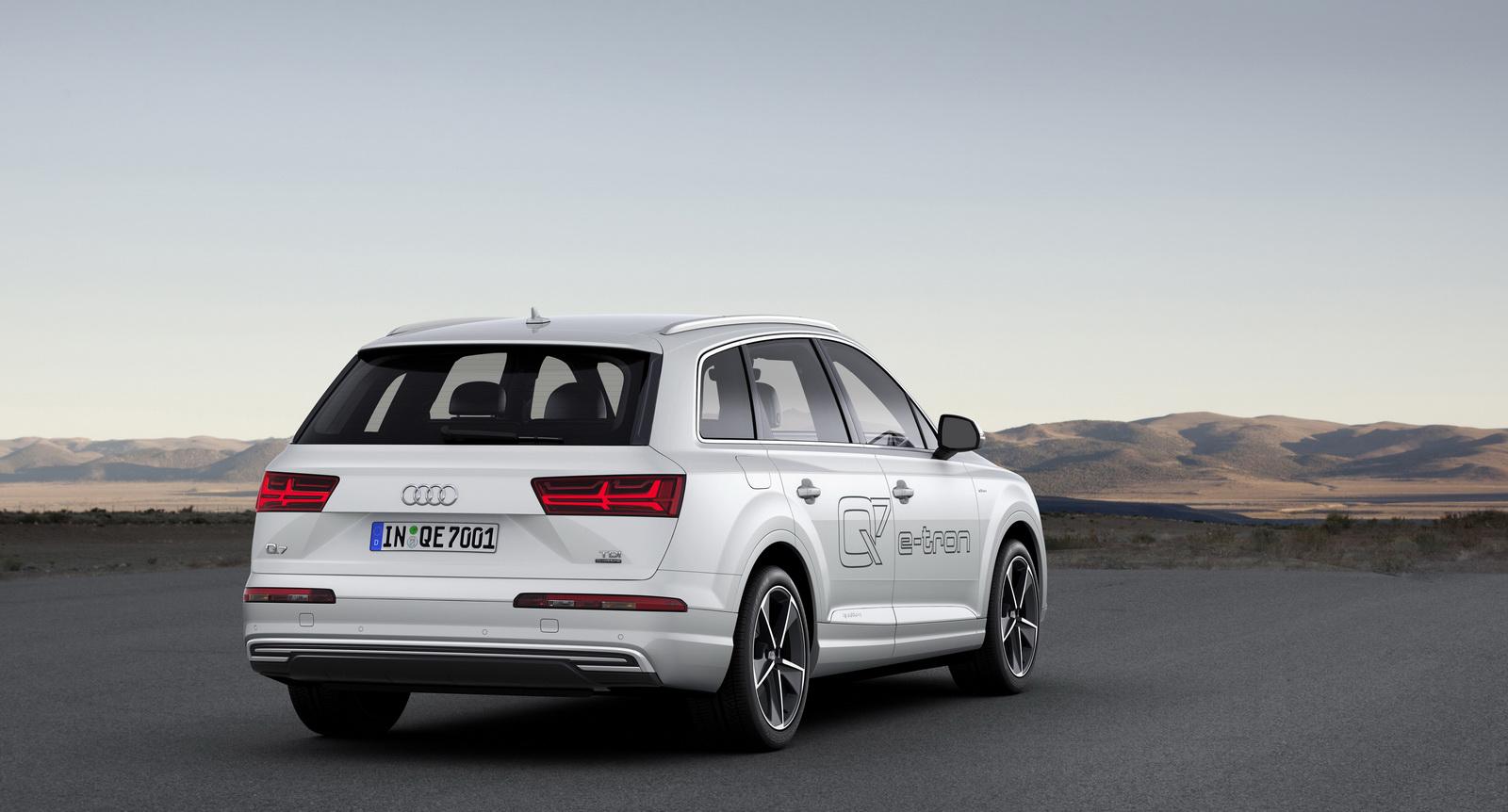 Audi Q7 e-tron 3.0 TDI quattro 2016: Sólo 1.7l/100 km de consumo medio 4