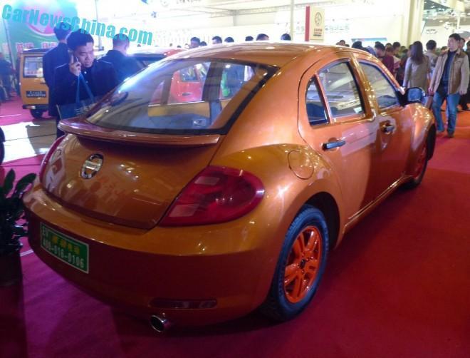 China lo vuelve a hacer: Copias del Volkswagen Beetle y BMW i3 1