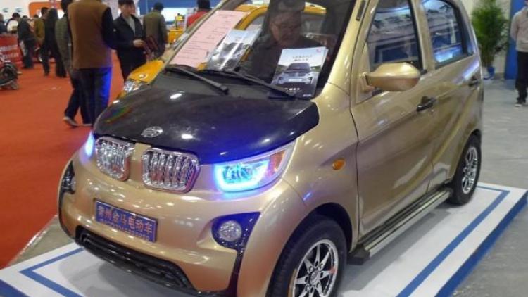 China lo vuelve a hacer: Copias del Volkswagen Beetle y BMW i3 4
