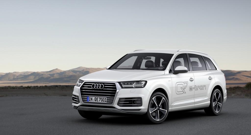El Audi Q7 e-tron será diésel, pero sólo en Europa 2