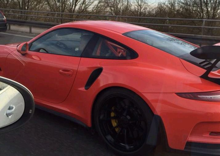 El Porsche 911 GT3 RS ya se deja ver en la calle 1