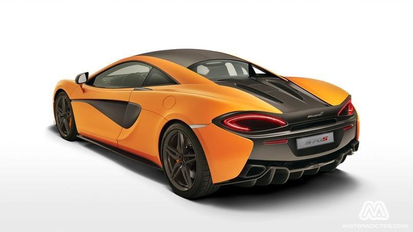 ¡Filtrado! McLaren 570S, primeras imágenes oficiales 5