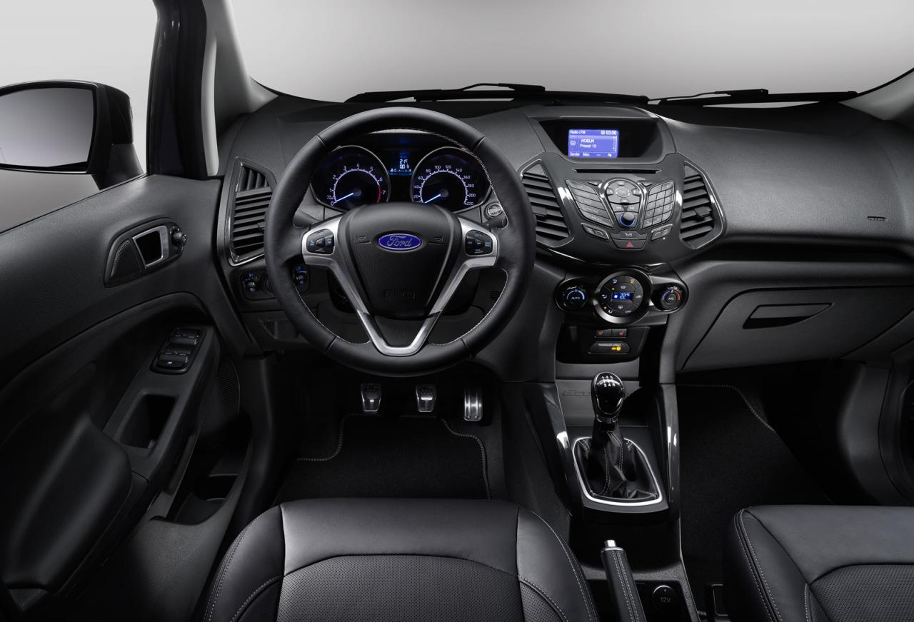 Ginebra 2015: Ford EcoSport, renovado y en búsqueda de un mayor auge de ventas 1
