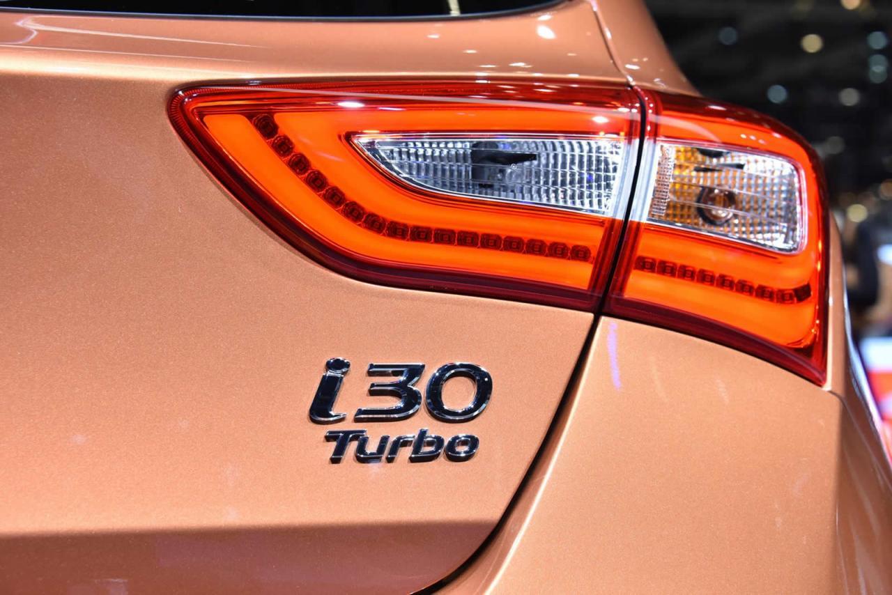 Ginebra 2015: Hyundai i30 Turbo 5