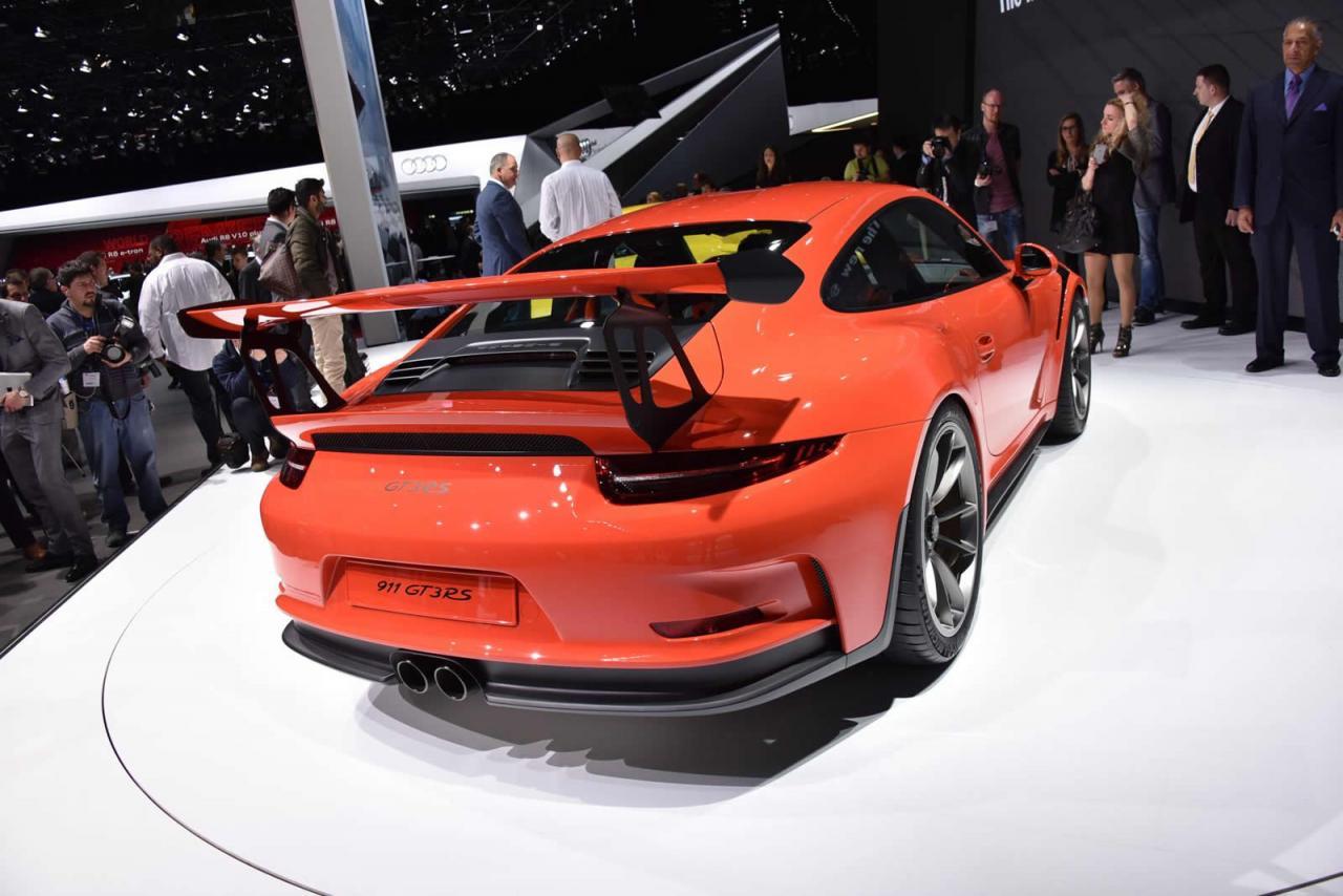 Ginebra 2015: Porsche 911 GT3 RS 2