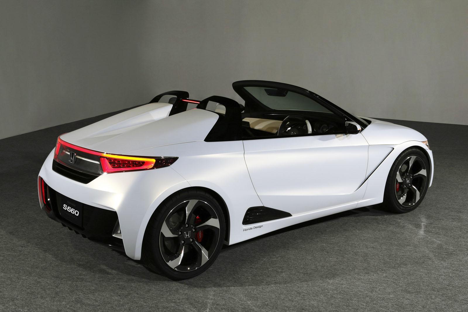 Honda venderá en España el S660 como 2