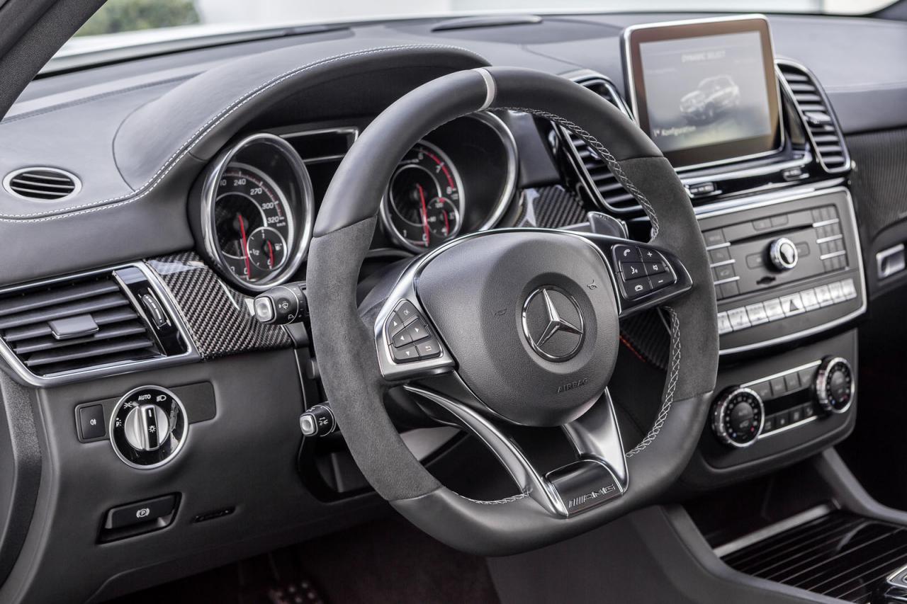 Mercedes GLE 63 AMG y 63 AMG S, información y datos 2