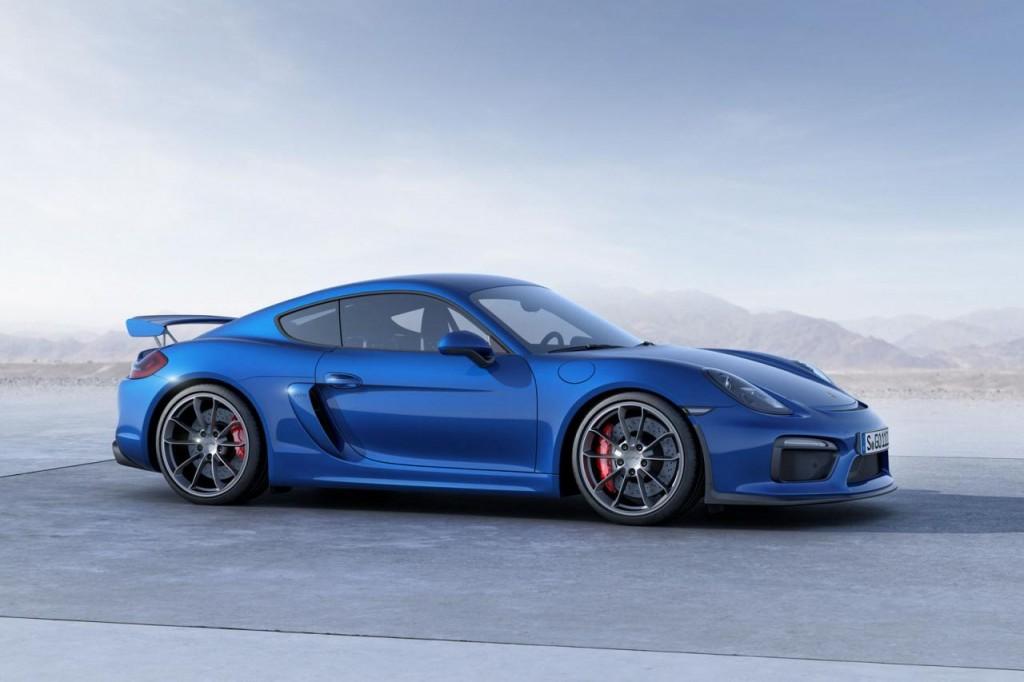 Porsche abre la puerta al Cayman GT4 RS 1
