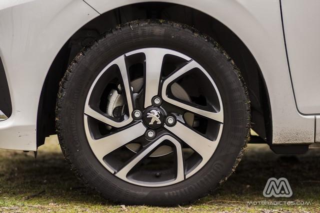 Prueba: Peugeot 108 Allure TOP! PureTech 82 CV (equipamiento, comportamiento, conclusión) 3