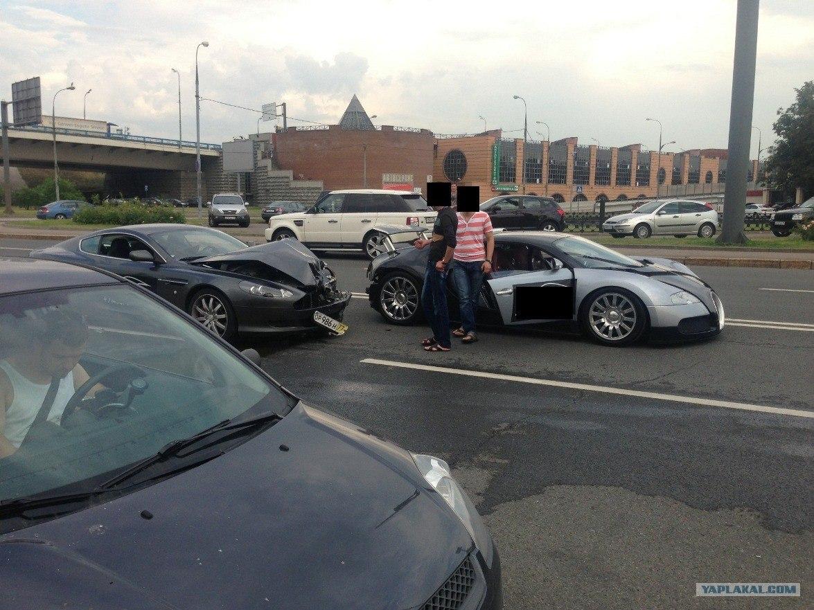 También les pasa a ellos: Un Bugatti Veyron abandonado 2