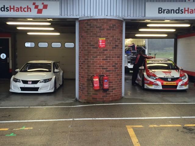 Tan sólo una semana para la presentación del Honda Civic Type R BTCC Racer 1