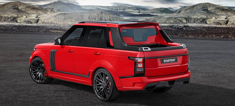 """A Startech se le va la pinza y transforma un Range Rover en """"pick-up"""" 1"""