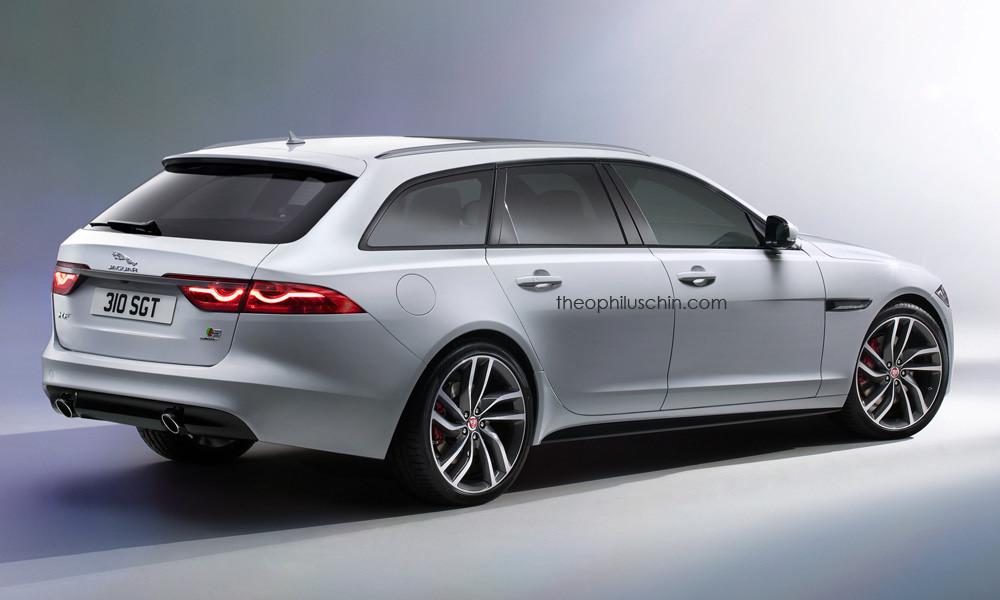 Así será el Jaguar XF Sportbrake, debutará este año 1