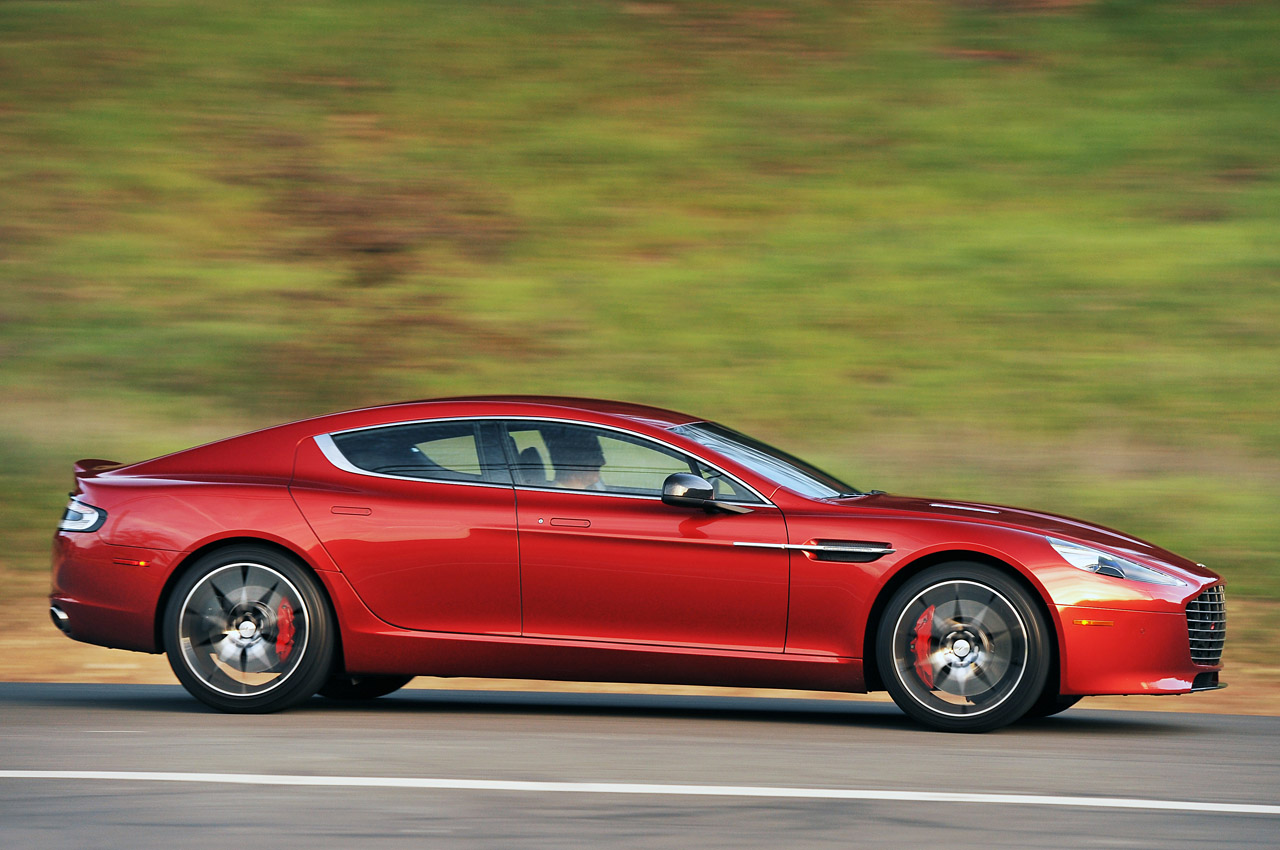 Aston Martin estudia lanzar un eléctrico, basado en el Rapide y con 1.000 caballos 2