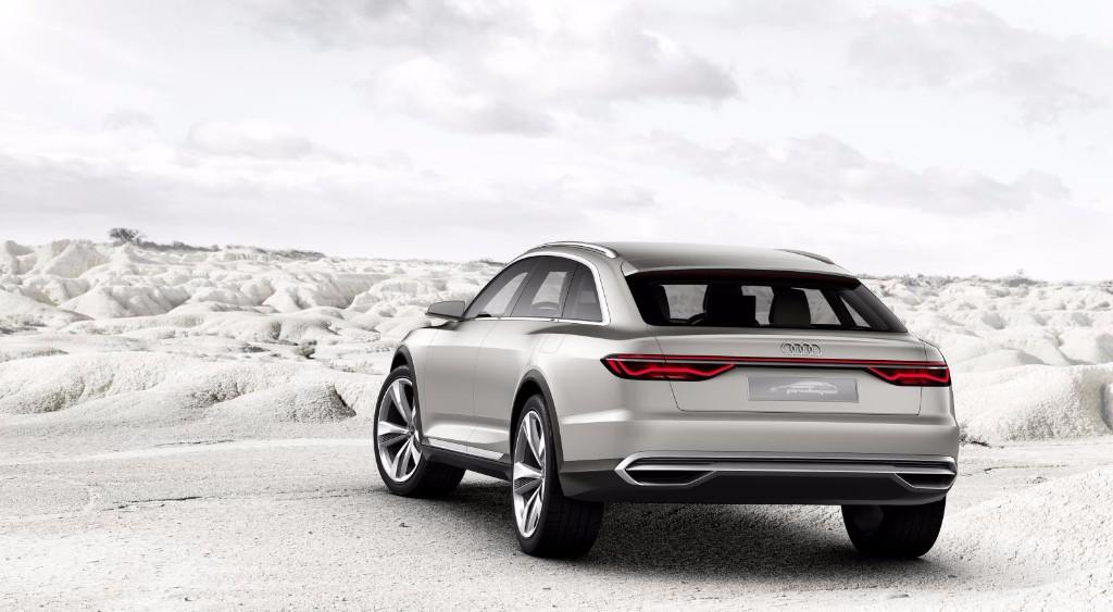 Audi Prologue Allroad: Escaparate híbrido y enchufable con 734 CV para Shanghai 1
