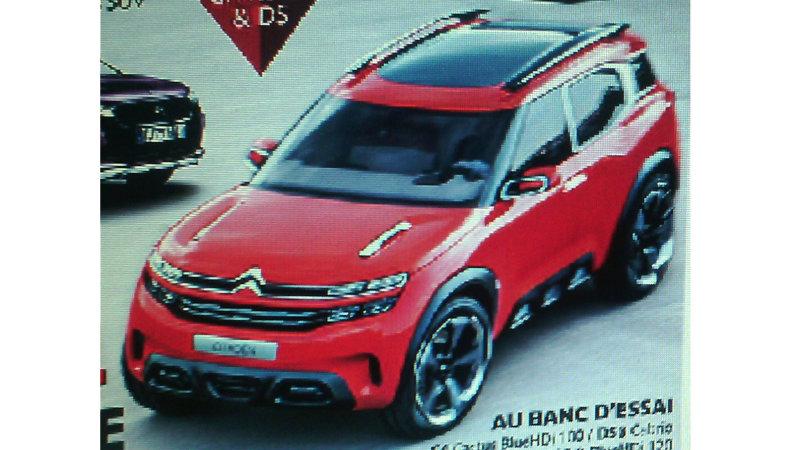 Citroën nos anticipa el Aircross: Se presentará la próxima semana 1