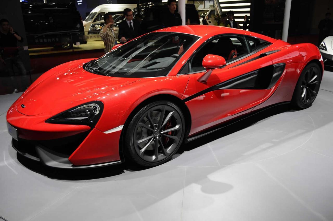 Desde Shanghái: McLaren 540C, debut oficial 1