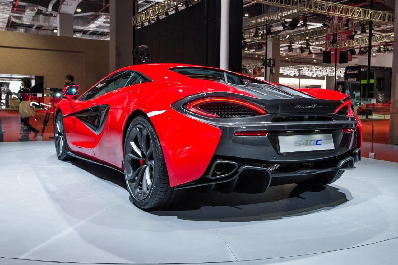 Desde Shanghái: McLaren 540C, debut oficial 2