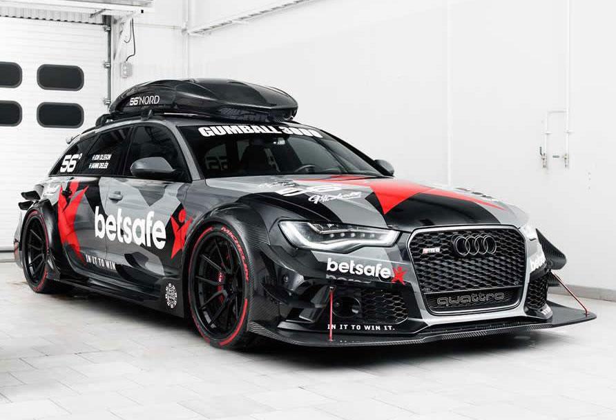 Este Es El Espectacular Audi Rs6 Dtm De Jon Olsson De Casi