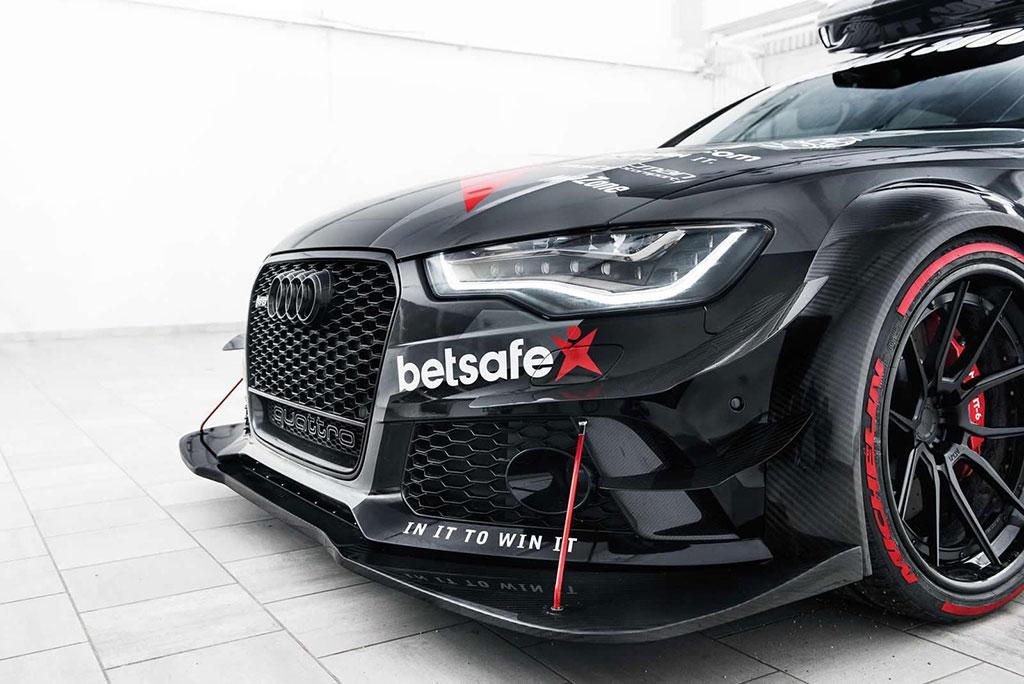 Este es el espectacular Audi RS6 DTM de Jon Olsson preparado para la Gumball 3