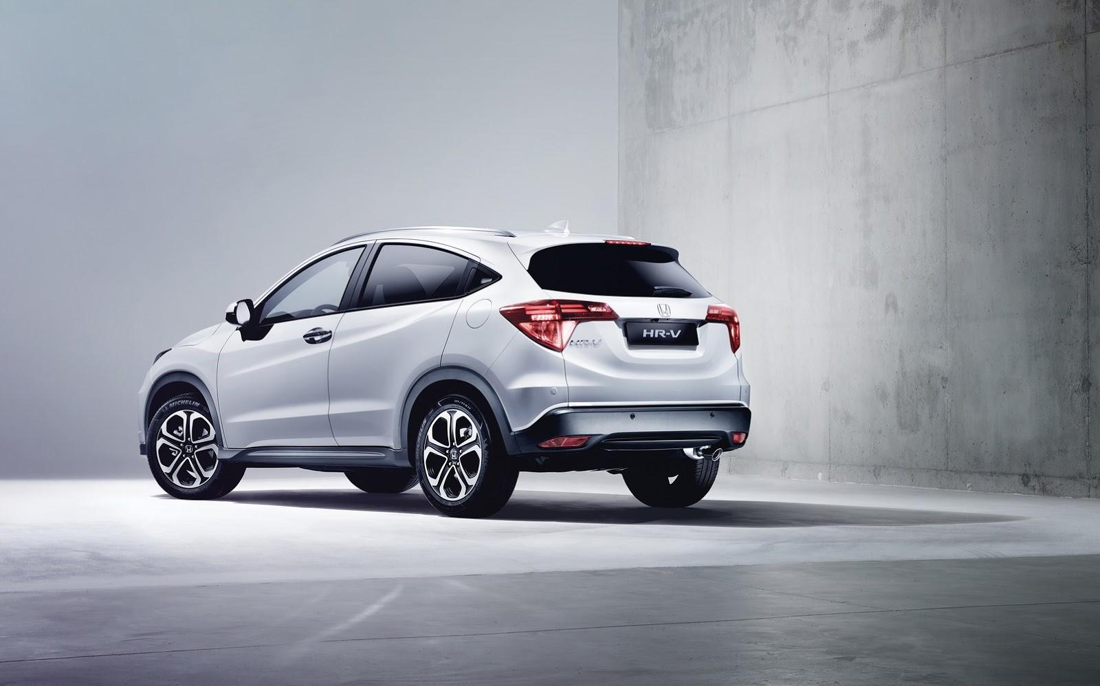 Honda HR-V: Disponible en verano con los 1.6 i-DTEC y 1.5 i-VTEC 2