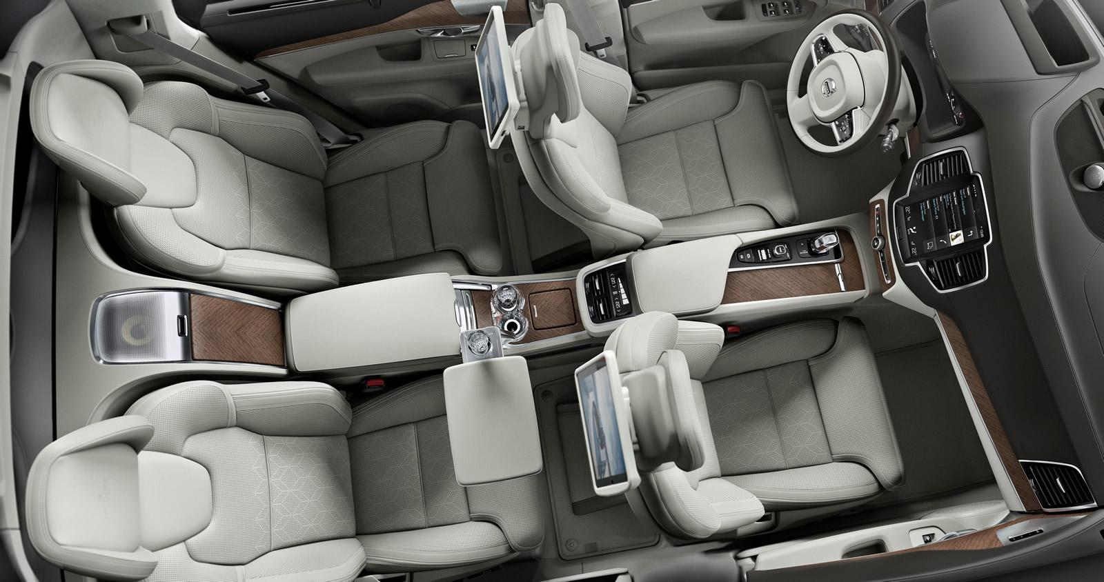 Los protagonistas son los ocupantes traseros: Volvo XC90 Excellence 1