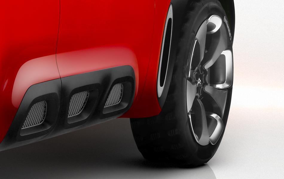 Más anticipos del Citroën Aircross, debutará mañana 1