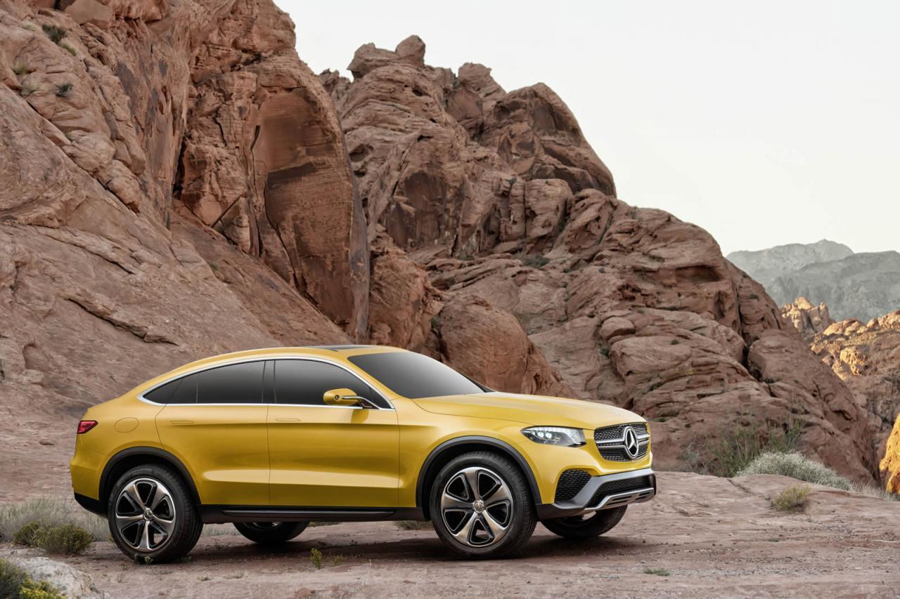 Mercedes Concept GLC Coupé, información e imágenes oficiales 2