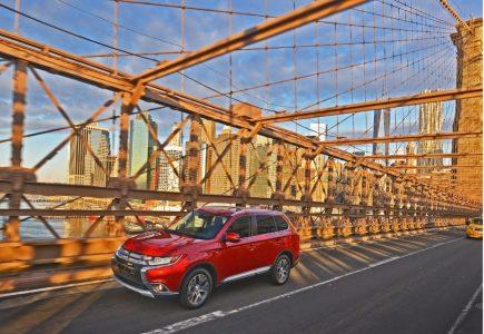 El Mitsubishi Outlander pasa por el quirófano para el Salón de Nueva York