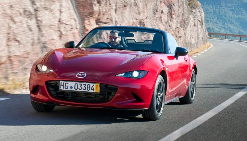 ¿Necesitabas más motivos para comprar un Mazda MX-5? Es hasta un 25% menos gastón que su antecesor 2