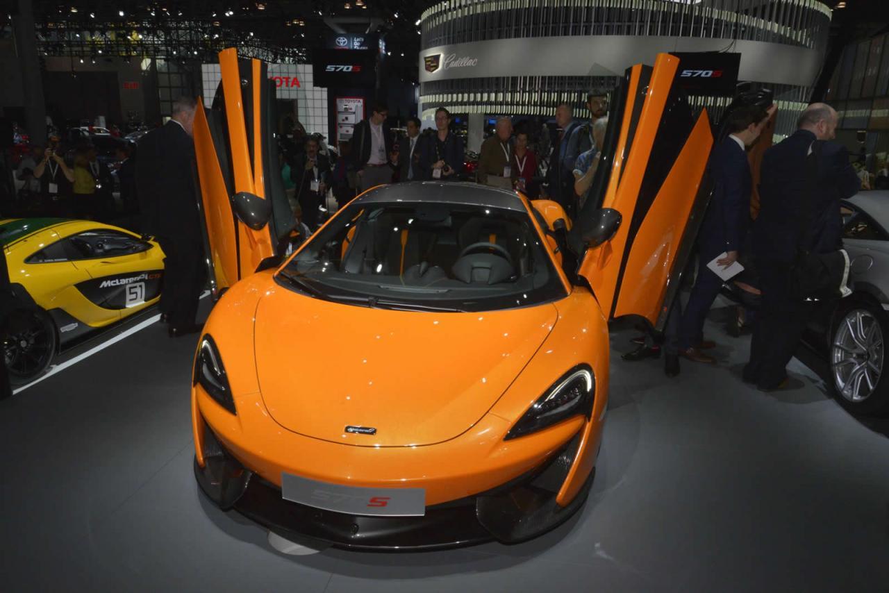 Nueva York 2015: McLaren 570S Coupé 2