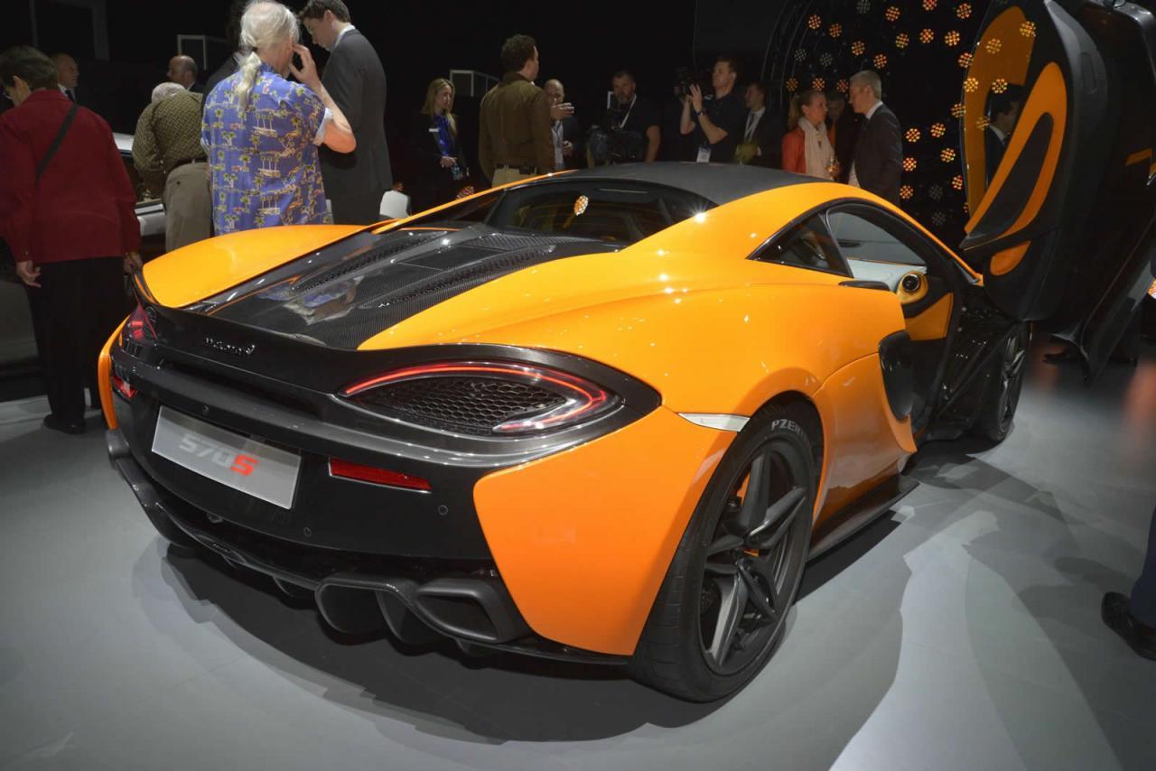 Nueva York 2015: McLaren 570S Coupé 4