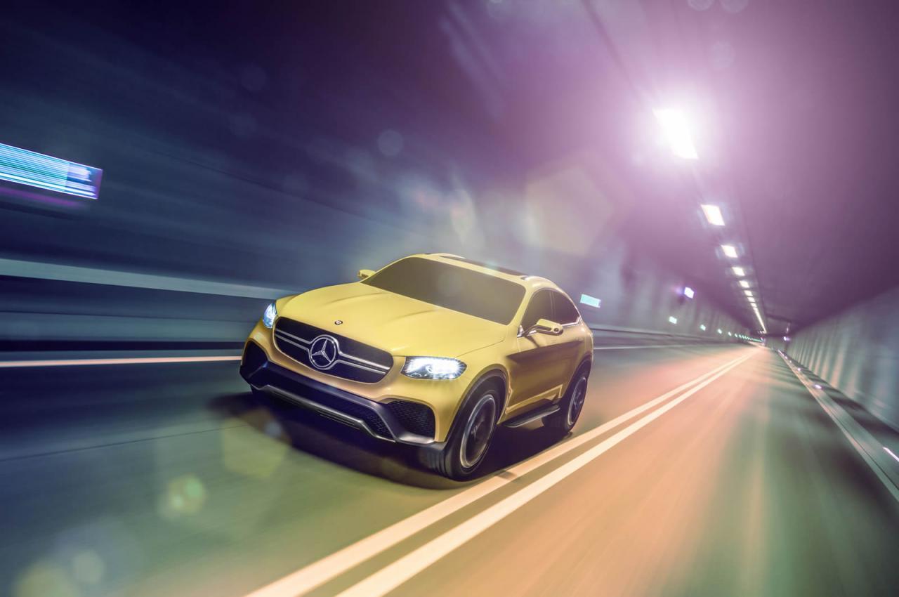Oficial: el Mercedes GLC Coupé llegará a las calles, lo hará en 2016 2