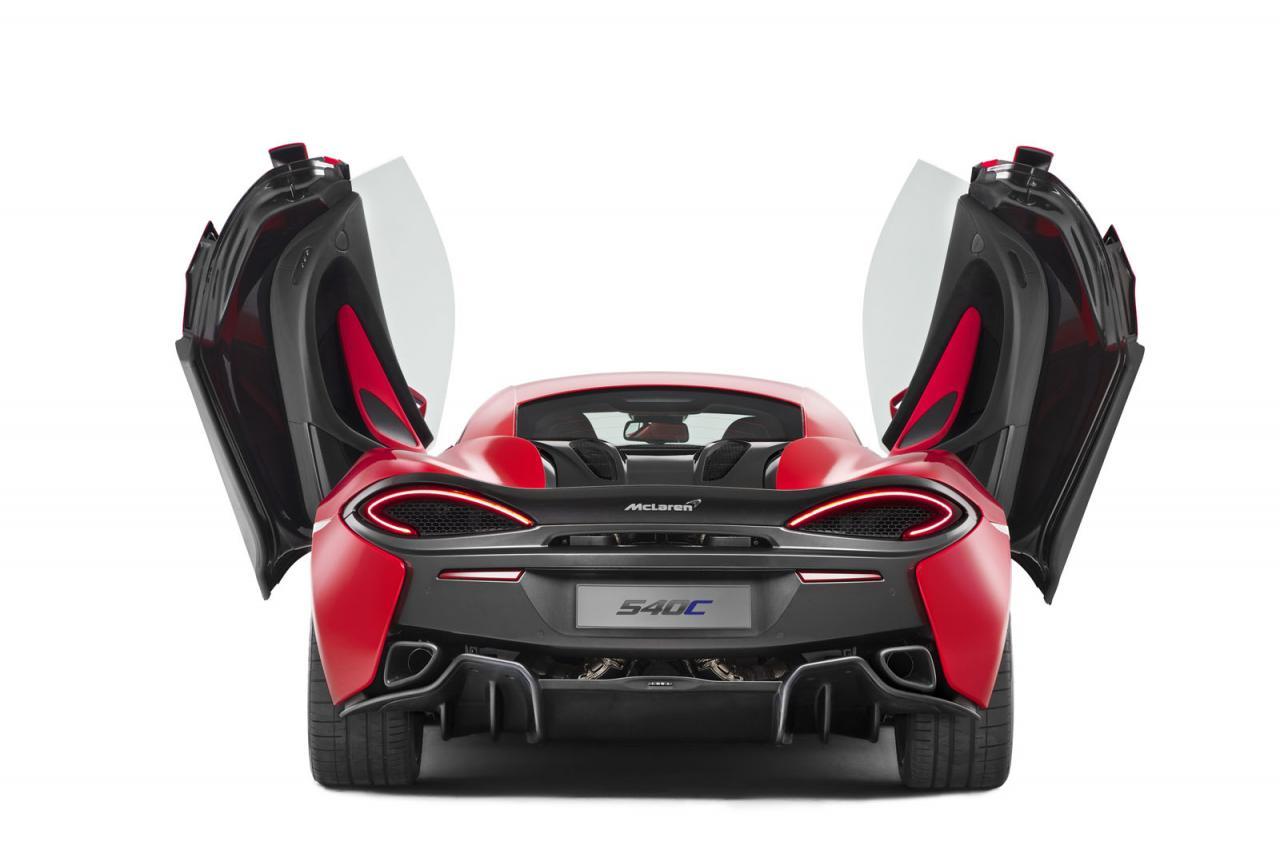 Oficial: McLaren 540C, el Sports Series más asequible 1