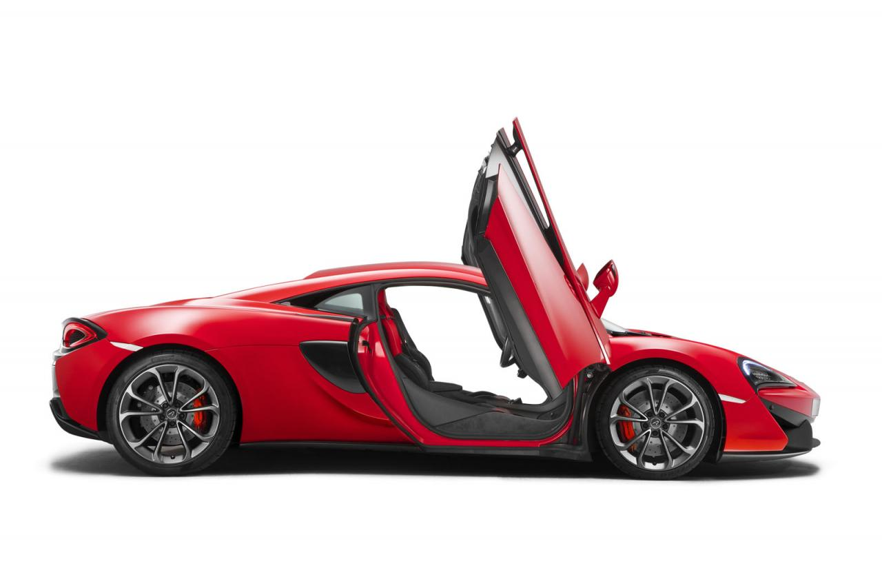 Oficial: McLaren 540C, el Sports Series más asequible 2