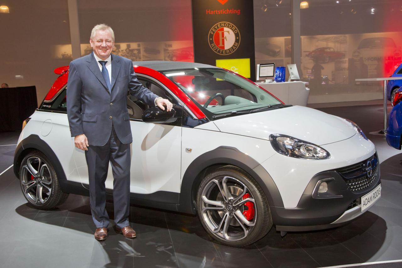 Oficial: Opel Adam Rocks S, desde Amsterdam 1