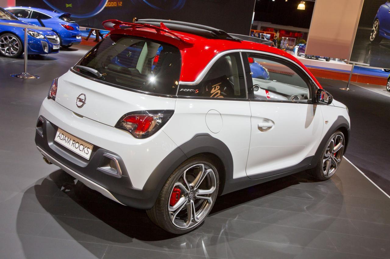 Oficial: Opel Adam Rocks S, desde Amsterdam 2